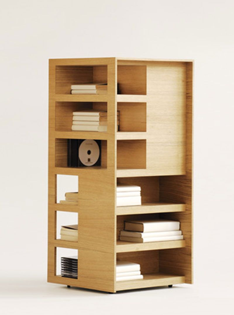 Superbe Multi Function Home Interior Storage Furniture Design, Rotating Book Towers  By Channels U2013 Book Tower