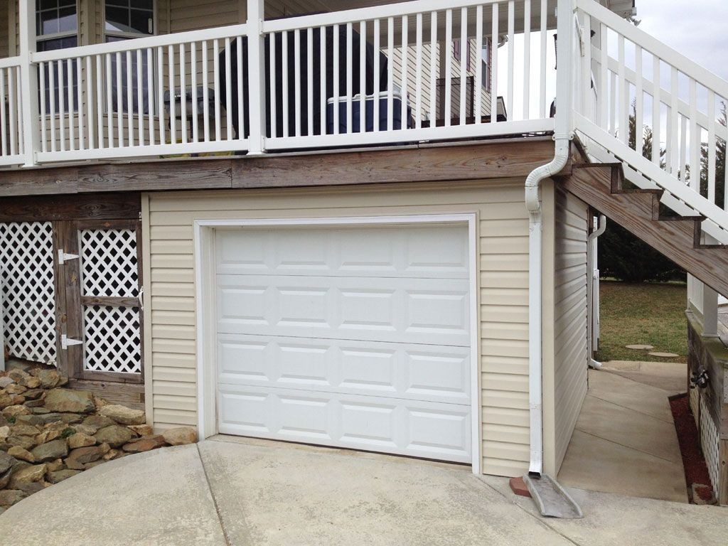 Under deck garage google search house pinterest for Garage under deck