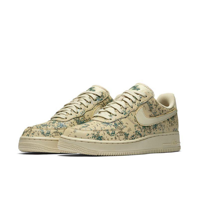 ea881869e3ff Nike Air Force 1  07 Low Camo Men s Shoe - Gold