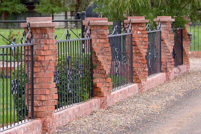 Simple And Creative Tricks Brick Fence Update Horse Fence
