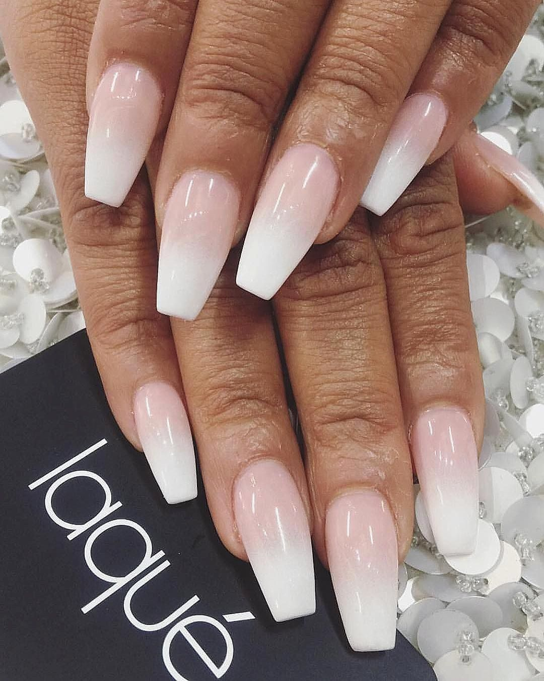 Full Set Nail Designs Luxury Full Set With Ombre 35 Full Set 10 Ombre Total 45 In 2020 Full Set Acrylic Nails Full Set Acrylic Nail Extensions Acrylic