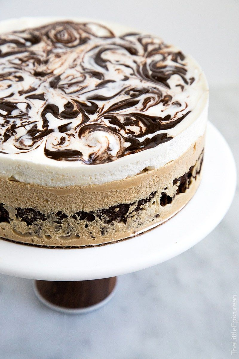 Coffee Ice Cream Cake Pinterest Coffee Ice Cream Coffee Icing