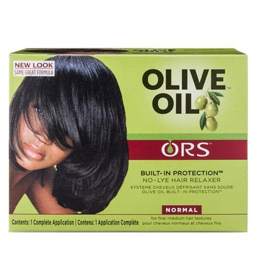Ors Relaxer Olive Oil For Normal Hair Hair Care Olive Oil Hair