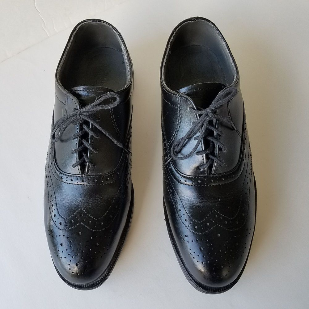 Mens Red Wing Dress Shoes 9 Ee Black Leather Steel Toe Oxford Lace Up 8701 Usa Leather Brogues Steel Toe Work Shoes Dress Shoes Men [ 1000 x 1000 Pixel ]