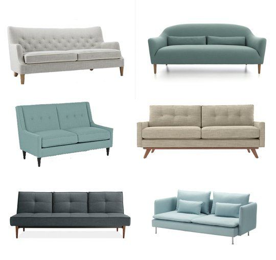 Six Stylish Sofas For Small Spaces Sofas For Small Spaces Apartment Therapy Small Spaces Small Space Living Room