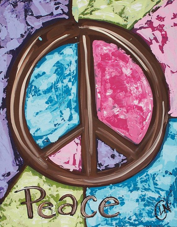 Peace Symbol I Had This Symbol All Over My Room In The 60s