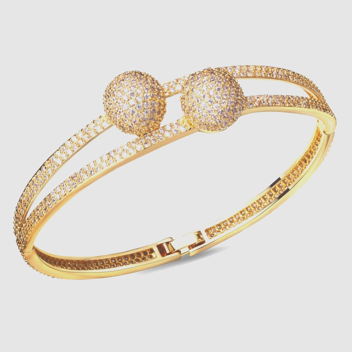 her crystal joudoo original bangle platinum hand bracelet diamond clover design leaf chain four gold for