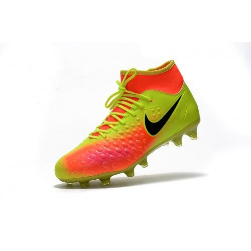 new style 87880 b1283 Best Nike Magista Obra II FG Yellow Orange Black Soccer Shoes