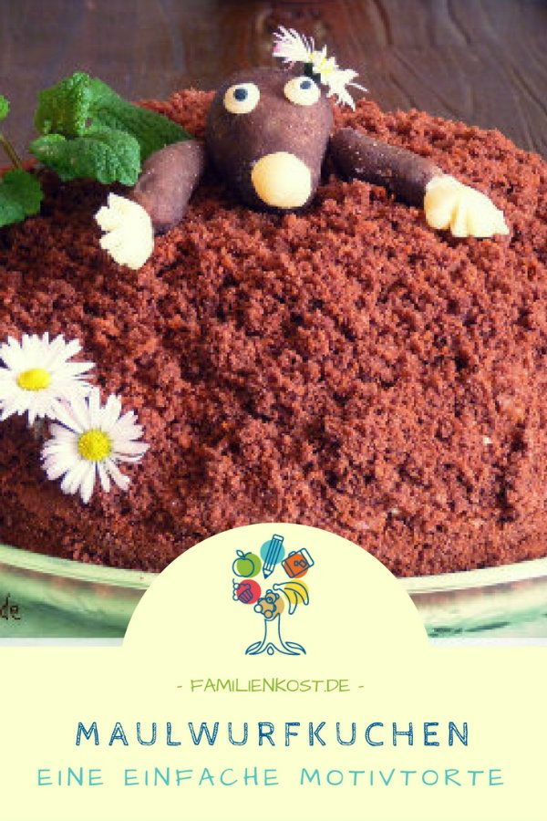 Maulwurfkuchen Rezept Maulwurfkuchen Maulwurfkuchen Rezept Und Kuchen