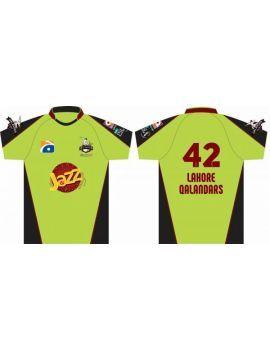 Order original Lahore qalanders jersey PSL 2017 Lahore Qalandar