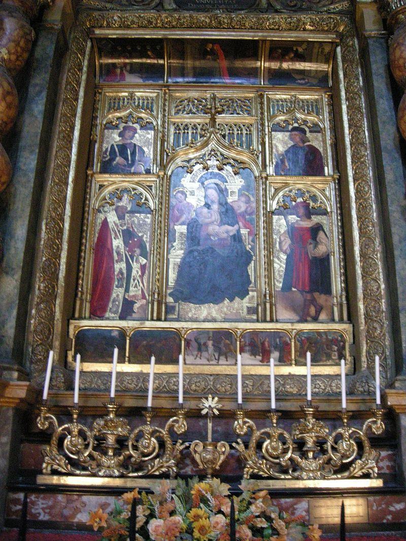Torino duomo interno cappella dei santi crispino e for Rosa dei mobili torino