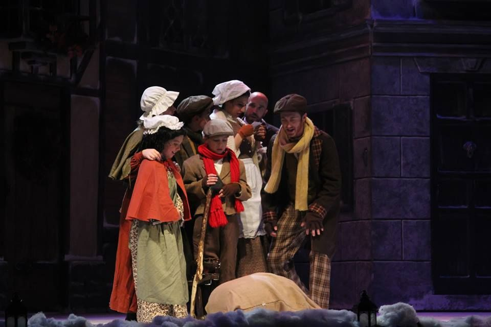 A Christmas Carol play | Christmas Carol at Palace Theater | Pinterest