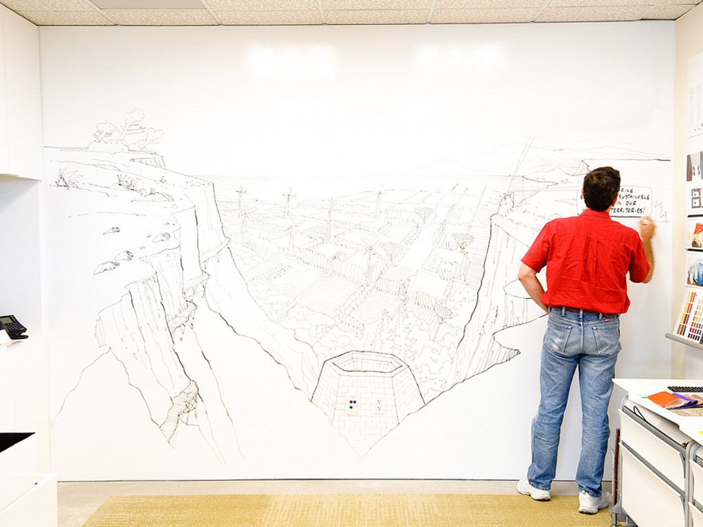 Turn A Wall Into A Whiteboard Whiteboard Walls Help Me Think In An Organic Way Can Create With
