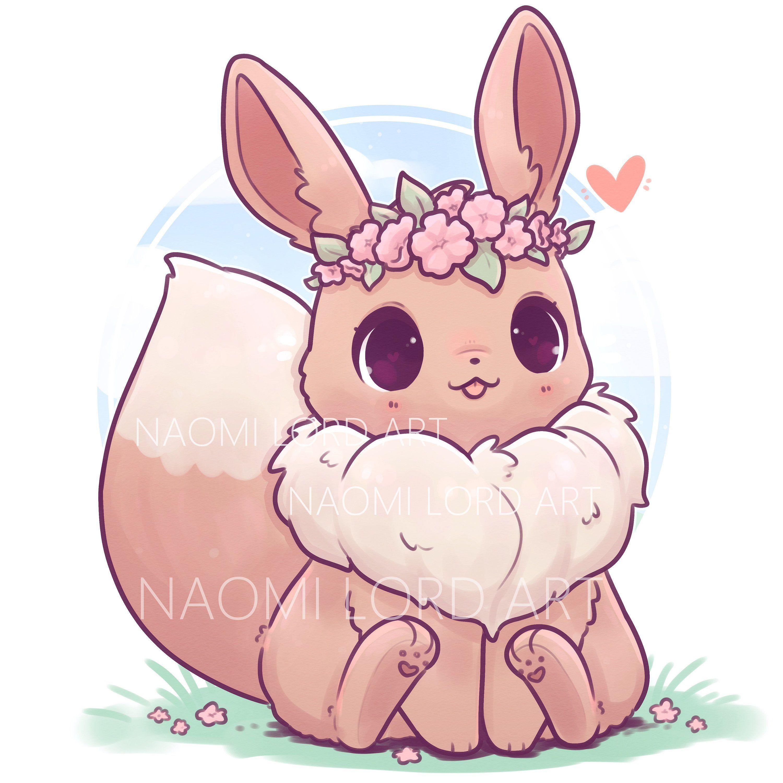Art Naomilordart Kawaii Jazzbunny64 Follow Cute Eevee Kawaiieevee Cute Animal Drawings Kawaii Cute Kawaii Drawings Cute Pokemon Wallpaper