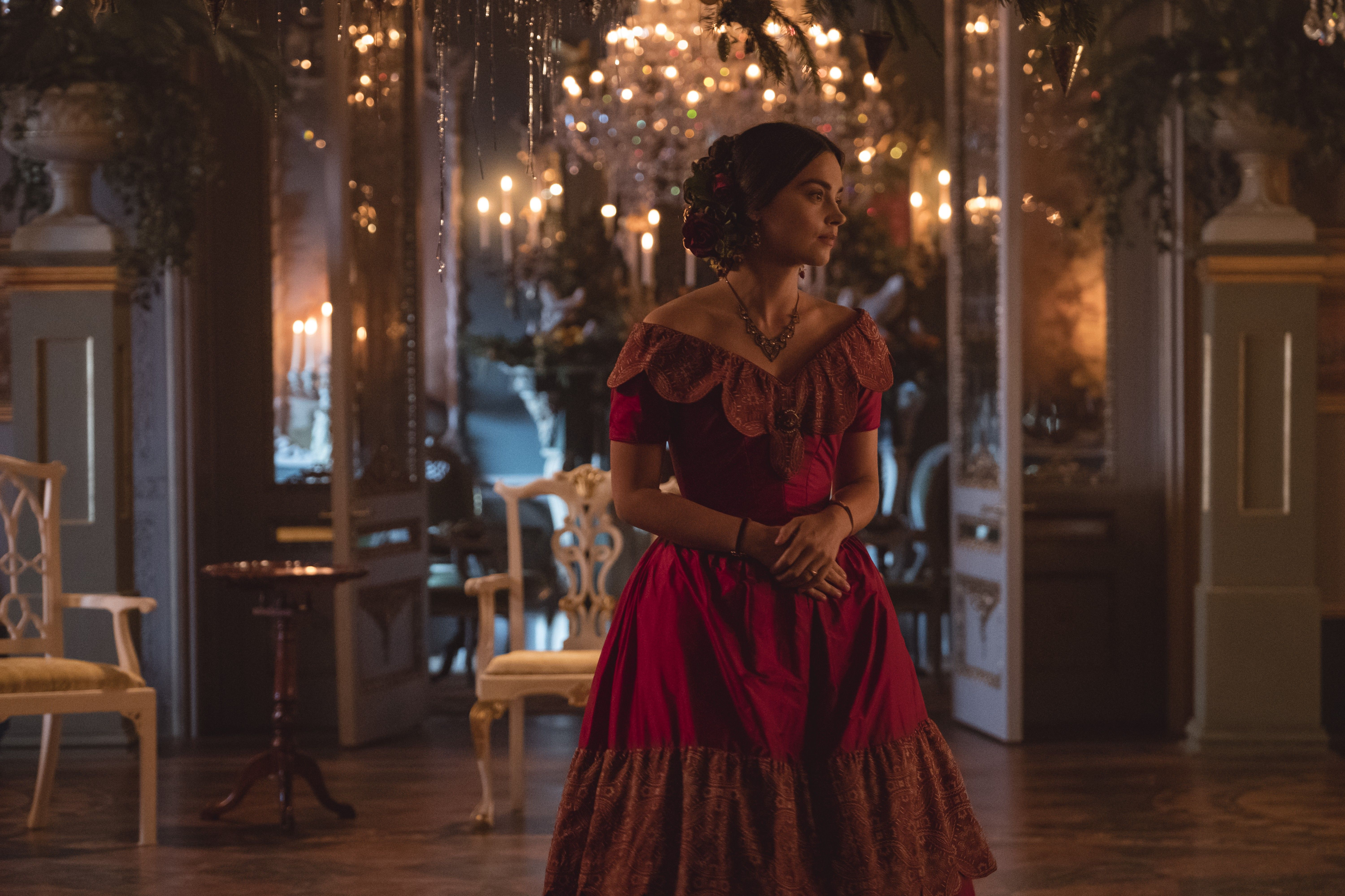 Promotional Still From The Victoria 2017 Christmas Special Comfort And Joy Queen Victoria Tv Show Queen Victoria Series Victoria Itv