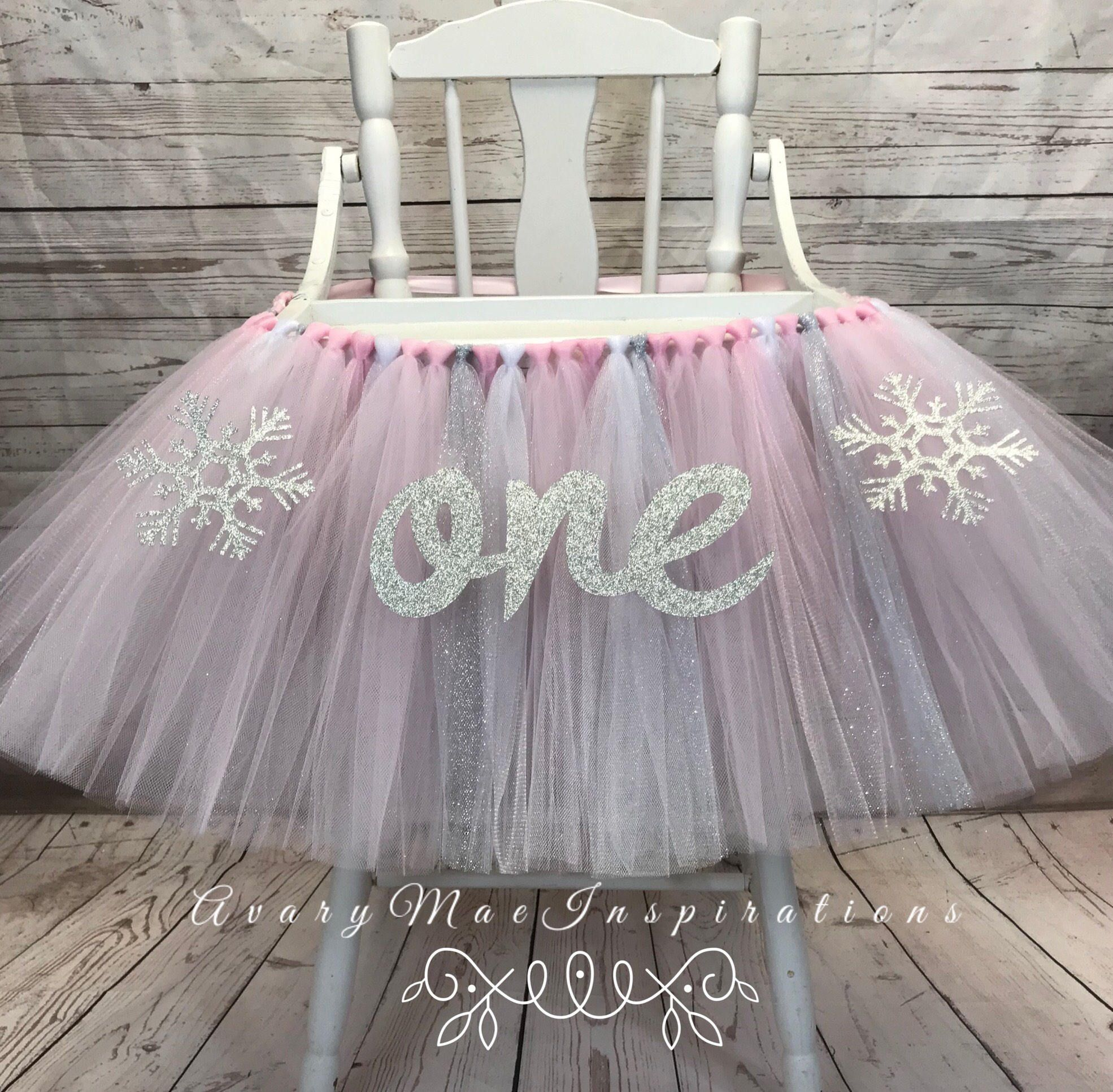 High Chair Tutu Winter Onederland High Chair Banner Pink Etsy Winter Onederland Birthday Party Winter Wonderland Birthday Party Onederland Birthday Party