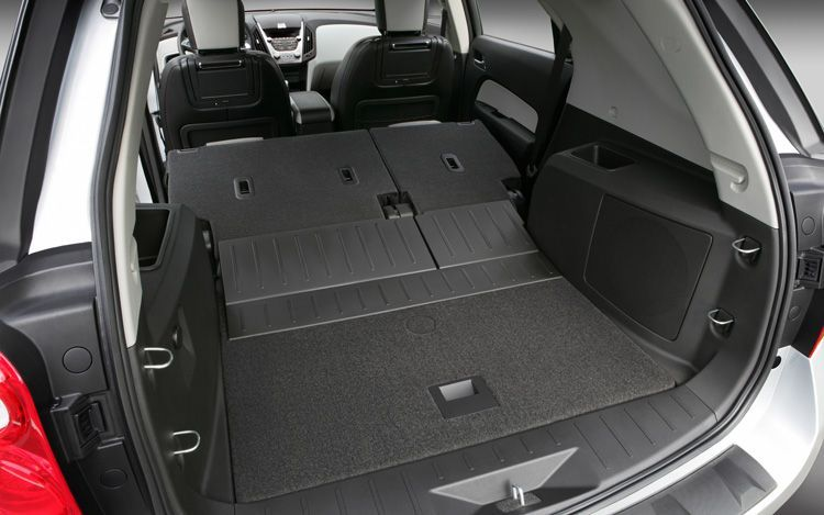 2018 Chevy Equinox Back Seat Fold Down See More At Chevrolet