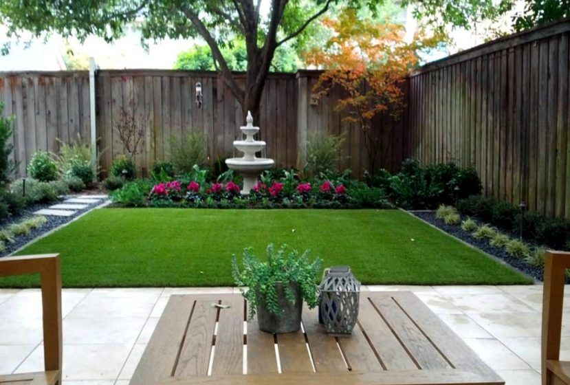 Backyard Small Garden Ideas On A Budget