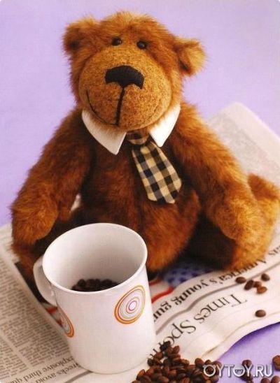 DIY Teddy Bear FREE Sewing Pattern   Bear Patterns   Pinterest ...