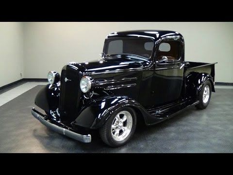 1936 Chevrolet Street Rod Pickup Truck V8 Chevy Trucks Trucks Chevrolet