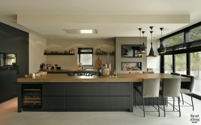 Luxe Design Keuken : Moderne villa kitchen kitchen kitchen design