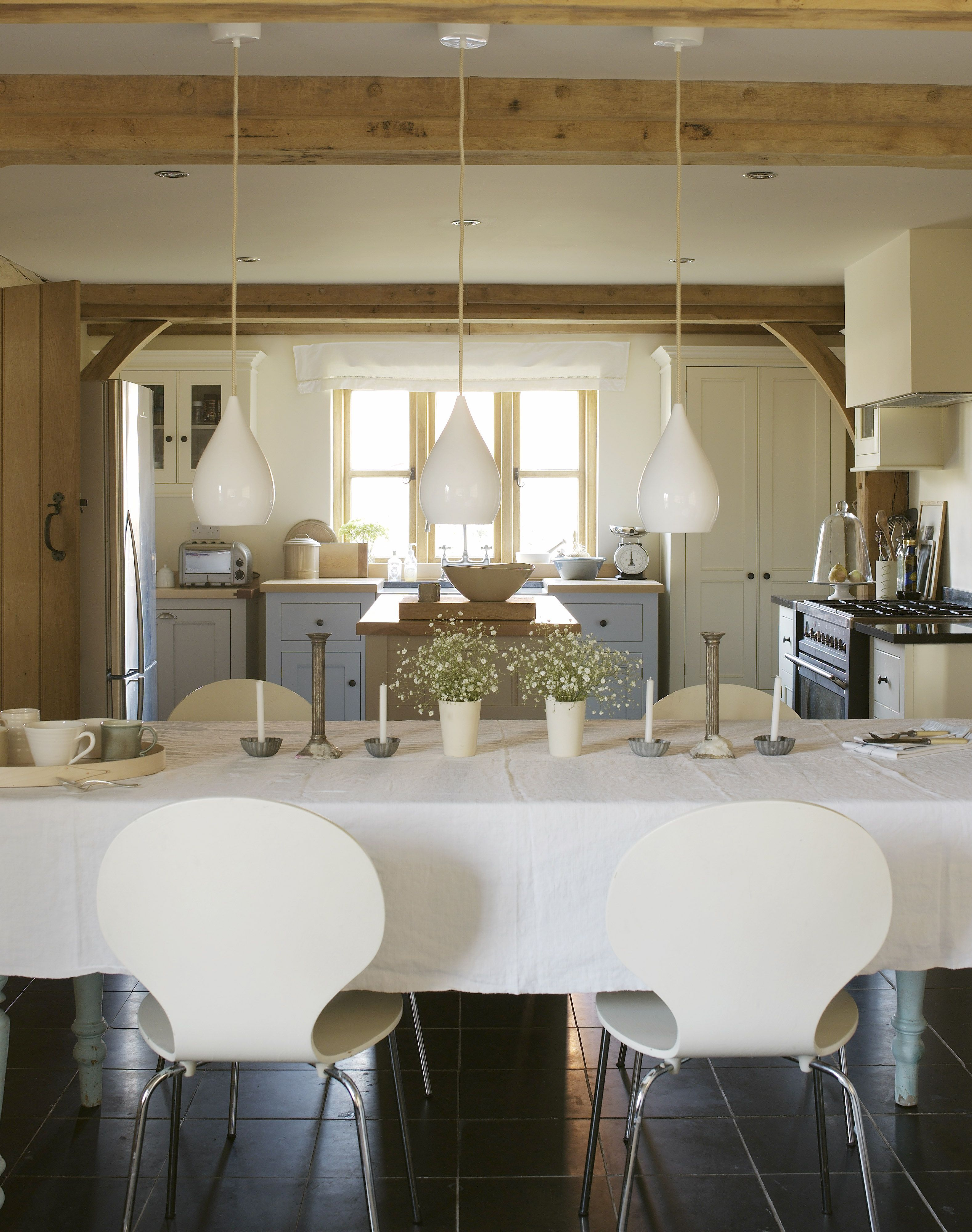 Border Oak house with 9.5 m long kitchen | Ideas for the House ...