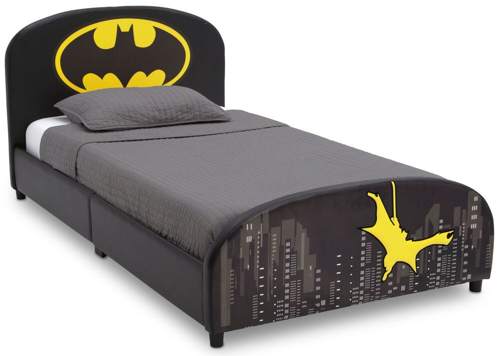 Bedframe Twin Size Mattress Foundation Batman Bedroom Furniture Bedframe With Images Twin Beds For Sale Twin Platform Bed Twin Size Bedding