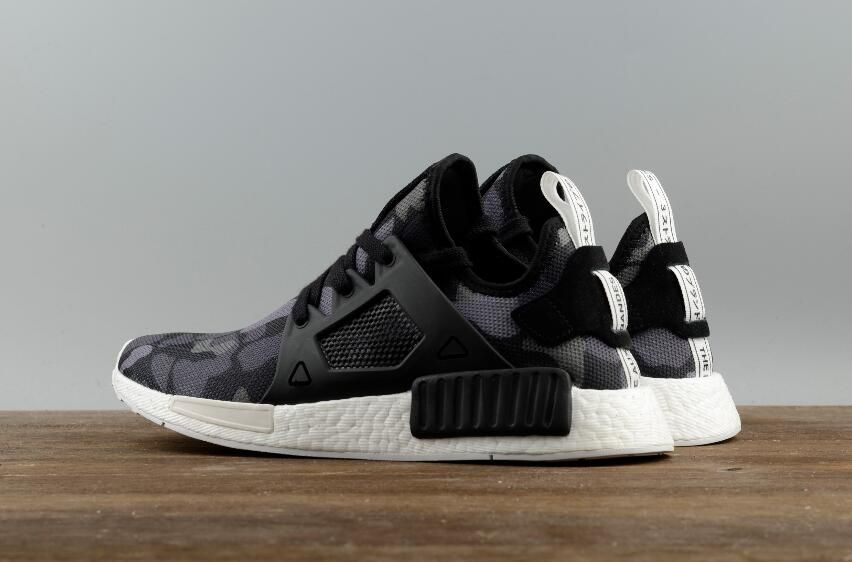 Authentic Adidas Originals NMD_XR1 PK Black Camouflage Real