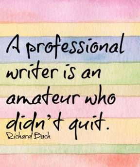A 'Real' Writer?