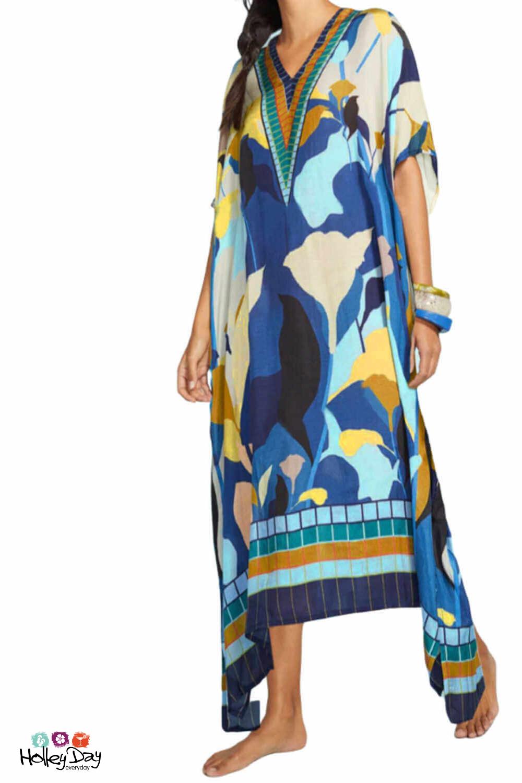 Tulip Kaftan Maxi Dress Plus Size Outfits Plus Size Summer Dresses Kaftan Maxi Dress [ 1500 x 1000 Pixel ]
