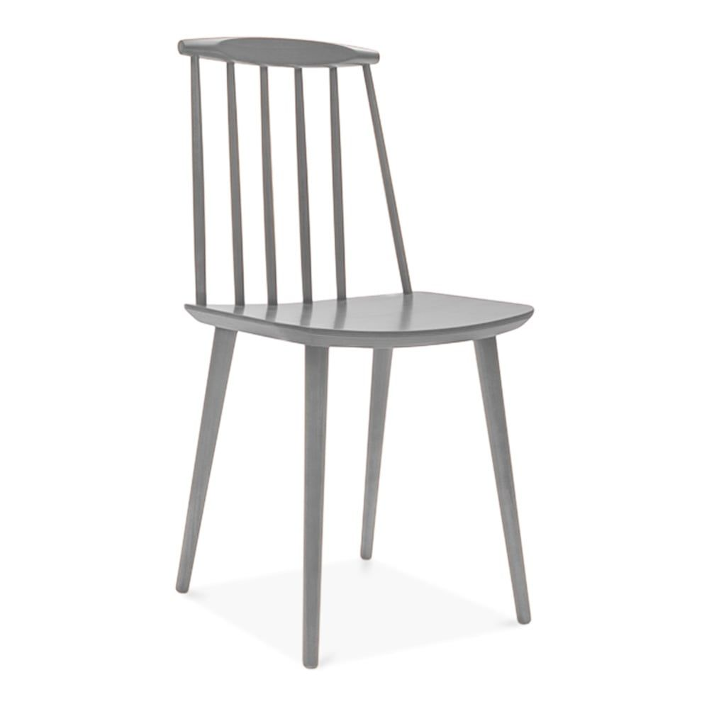Charmant Cult Living Mavis Spindle Grey Wooden Chair | Cult Furniture