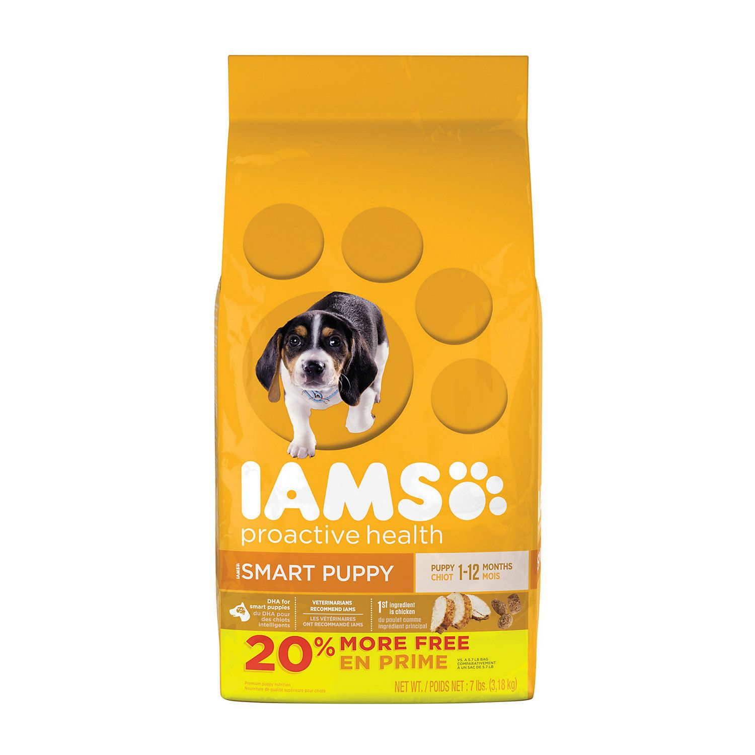 Iams Proactive Health Smart Puppy With Real Chicken Dry Food 7