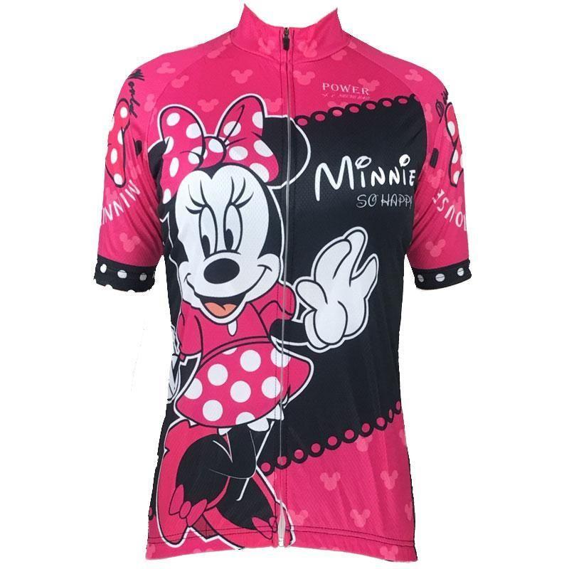 85e64f186 Women s Minnie Mouse Disney Pink Cycling Jersey
