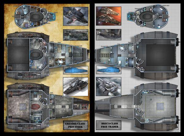 d20 future starship generator - Google Search | spaceships