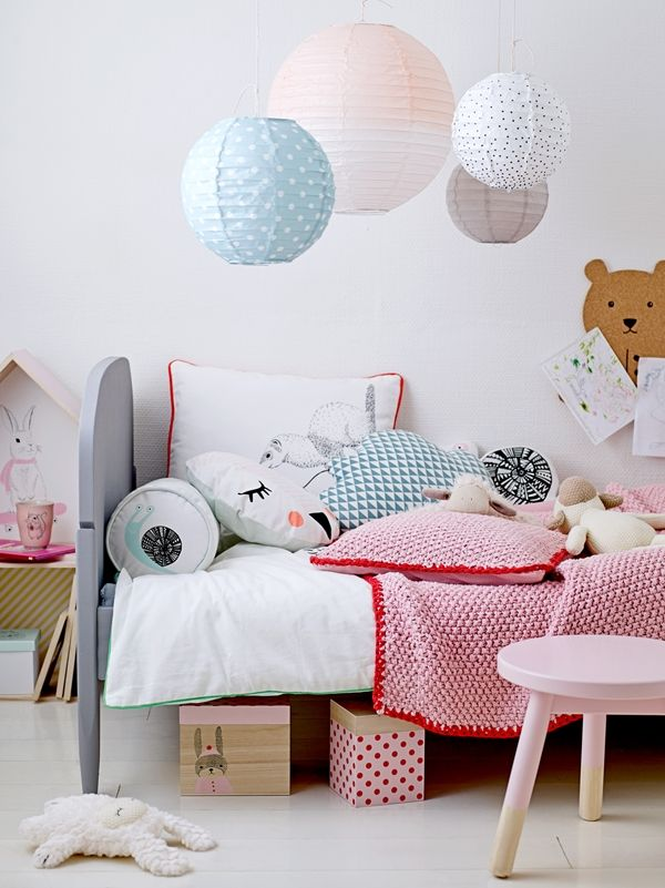 Skandinavische Kindermöbel Bloomingville Kids Room Spring 2016 - Adorable