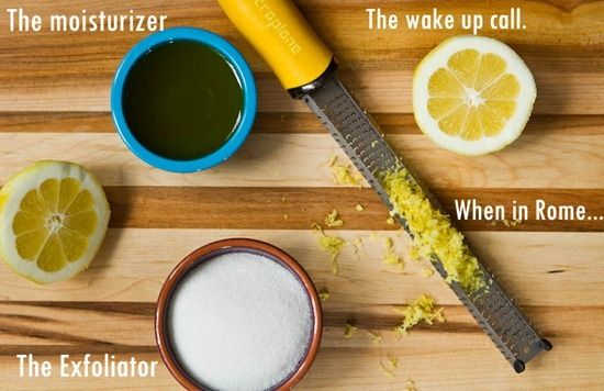 Image result for sugar olive oil lemon juice scrub