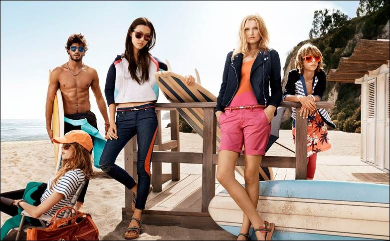 tommy hilfiger spring summer 2014 campaign photo 002 Tommy Hilfiger Spring/Summer 2014 Campaign Photos