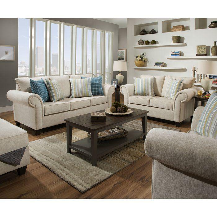 Best Highland Dunes Cowan Configurable Living Room Set 400 x 300