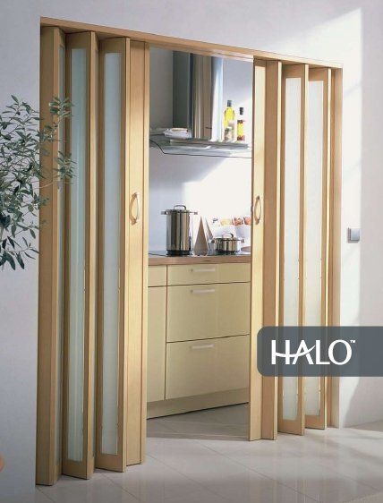 Accordion folding doors room dividers architecture for Custom made internal bifold doors