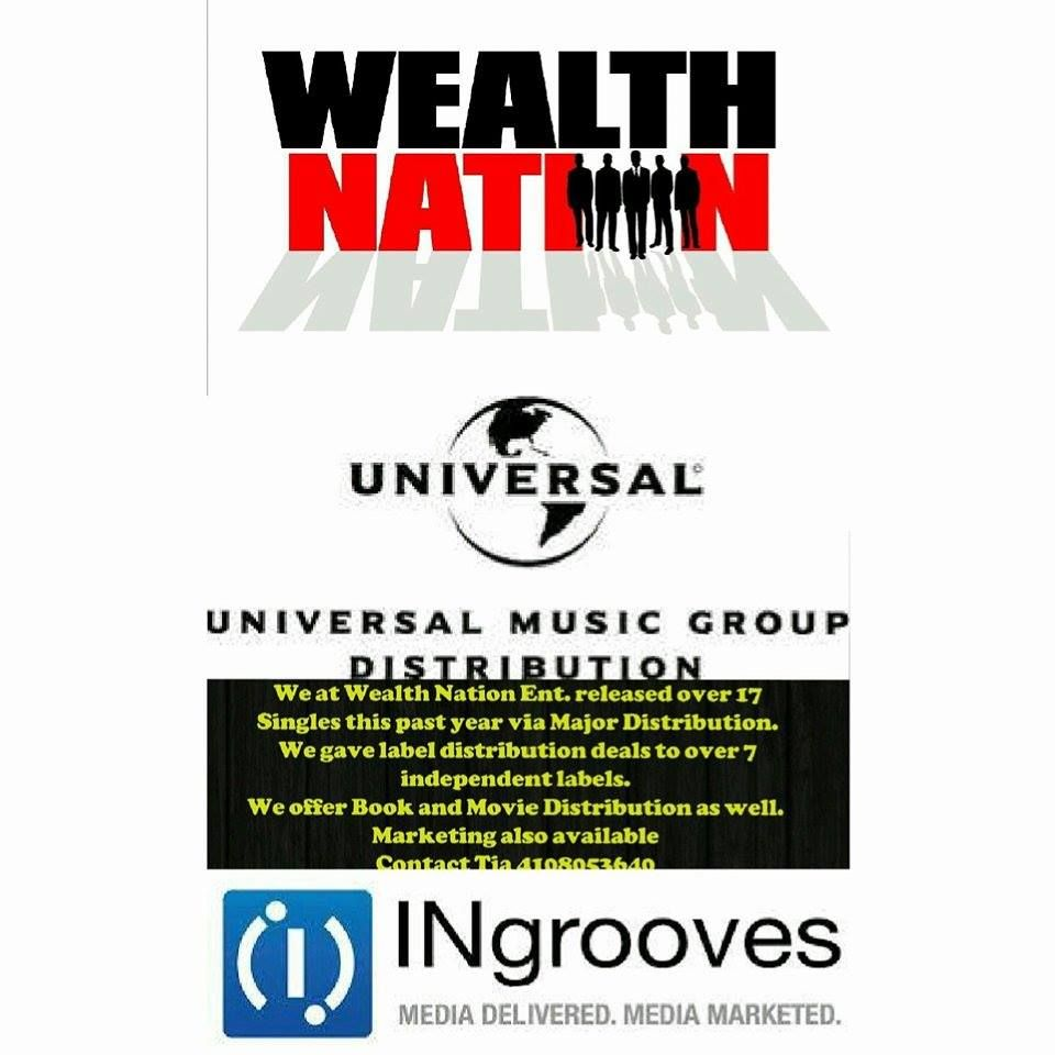 We at Wealth Nation Ent  released over 17 Singles this past