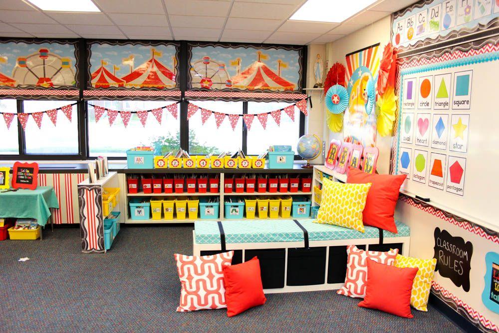 Take a Tour of My Vintage Circus Kindergarten Classroom ...