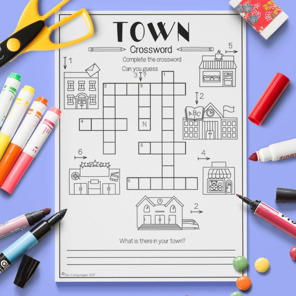 Town Crossword