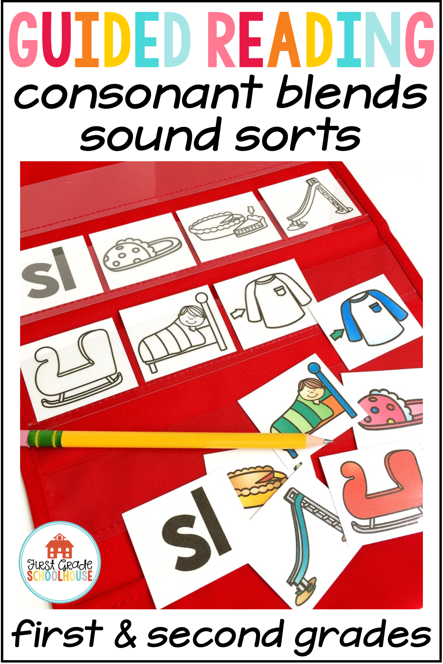 Guided Reading Sound Sorts Consonant Blends