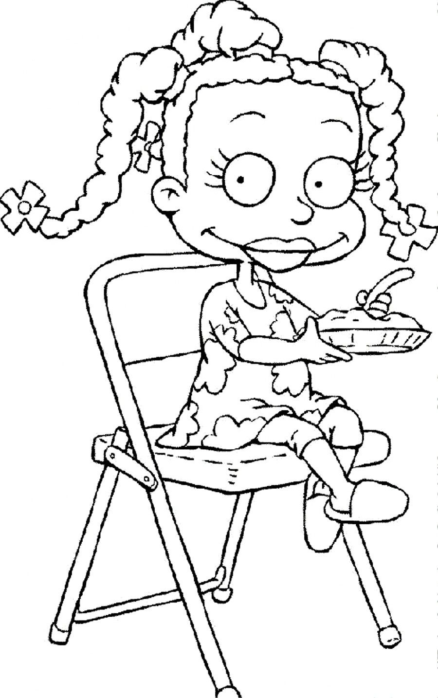 Pin By Funcraft Diy On Coloring Pages Rugrats Cartoon Coloring Pages Black History Month Crafts Coloring Pages