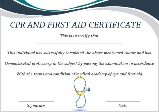 Pin On Certificate Template