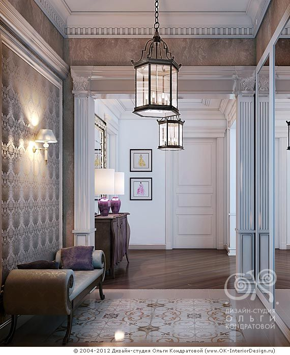 дизайн интерьера прихожей в квартире фото