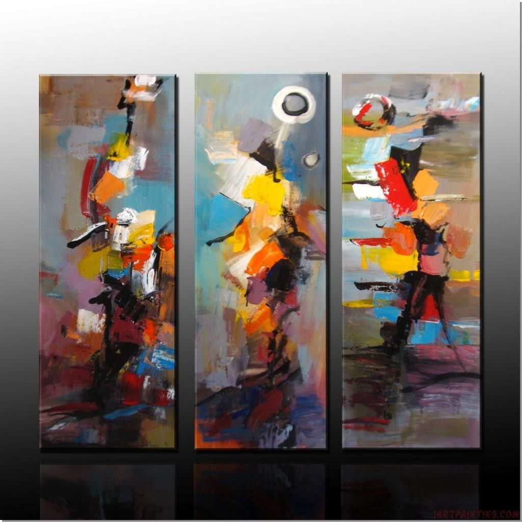 abstract painting canvas sets modern wall art handmade pieces
