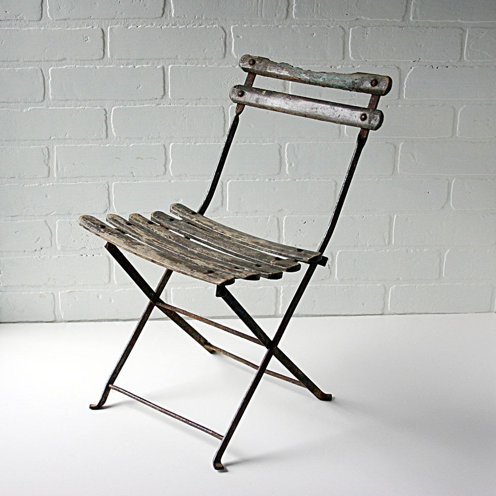 Attractive Childrens French Bistro Chair  Vintage Childrens Cafe Chair
