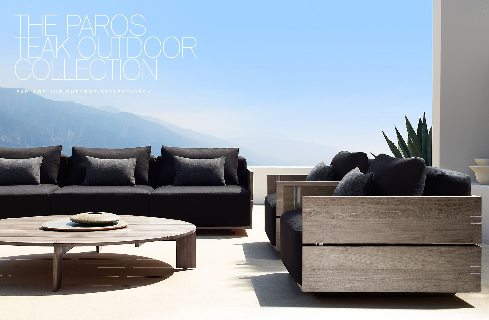 Captivating RH Modern Outdoor Collections