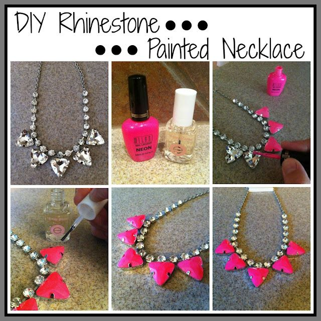 good idea - painting some gaudy costume jewelry with nail polish  sc 1 th 225 & good idea - painting some gaudy costume jewelry with nail polish ...